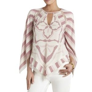 BCBG Patterned Blouse